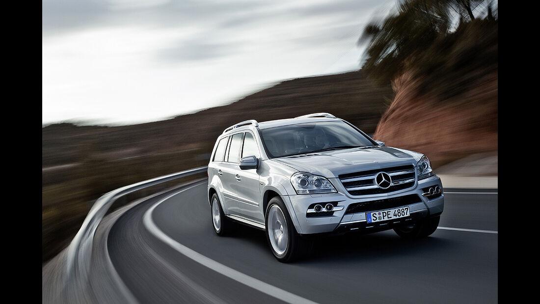 Mercedes GL-Klasse Offroad Challenge