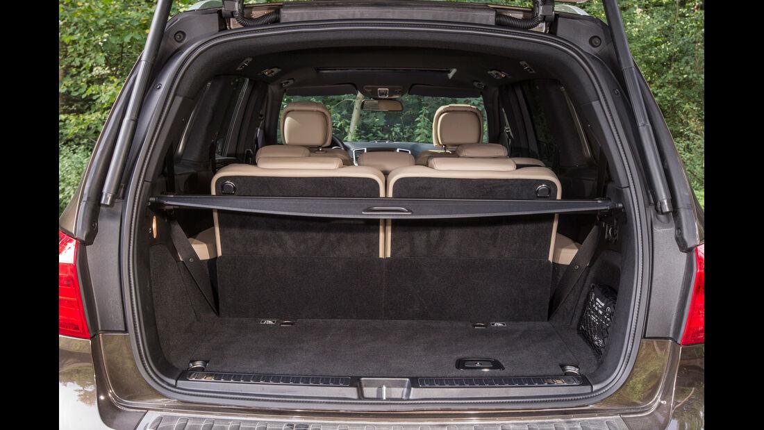 Mercedes GL, Kofferraum, Ladefläche