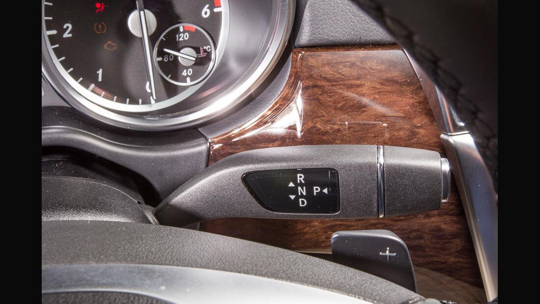 Mercedes GL, Lenkradhebel