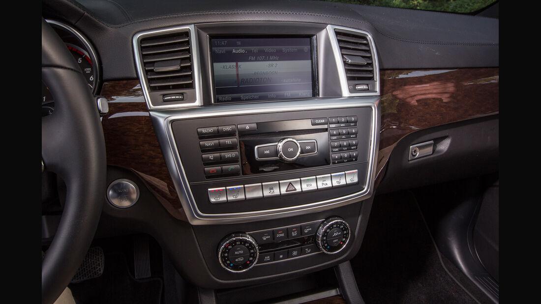 Mercedes GL, Mittelkonsole, Bedienelement