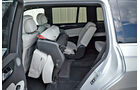 Mercedes GL, Rückbank, einklappen