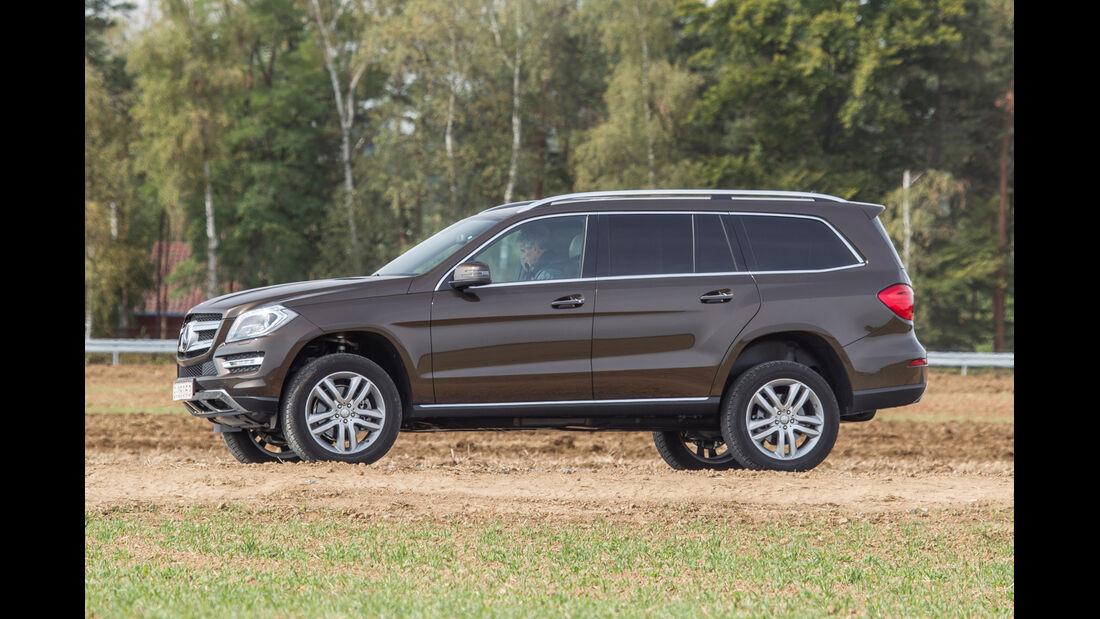 Mercedes GL, Seitenansicht