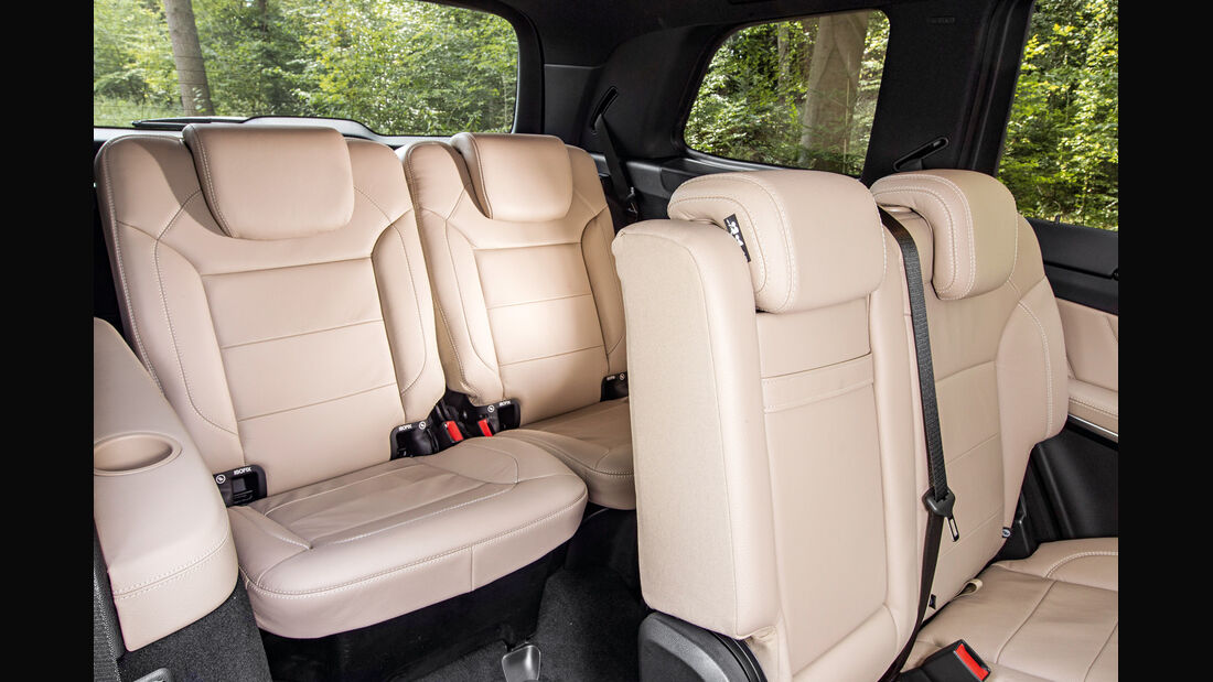 Mercedes GL, Sitze, Innenraum