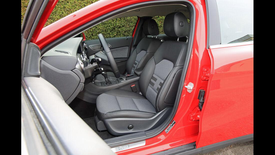 Mercedes GLA 200, Fahrersitz