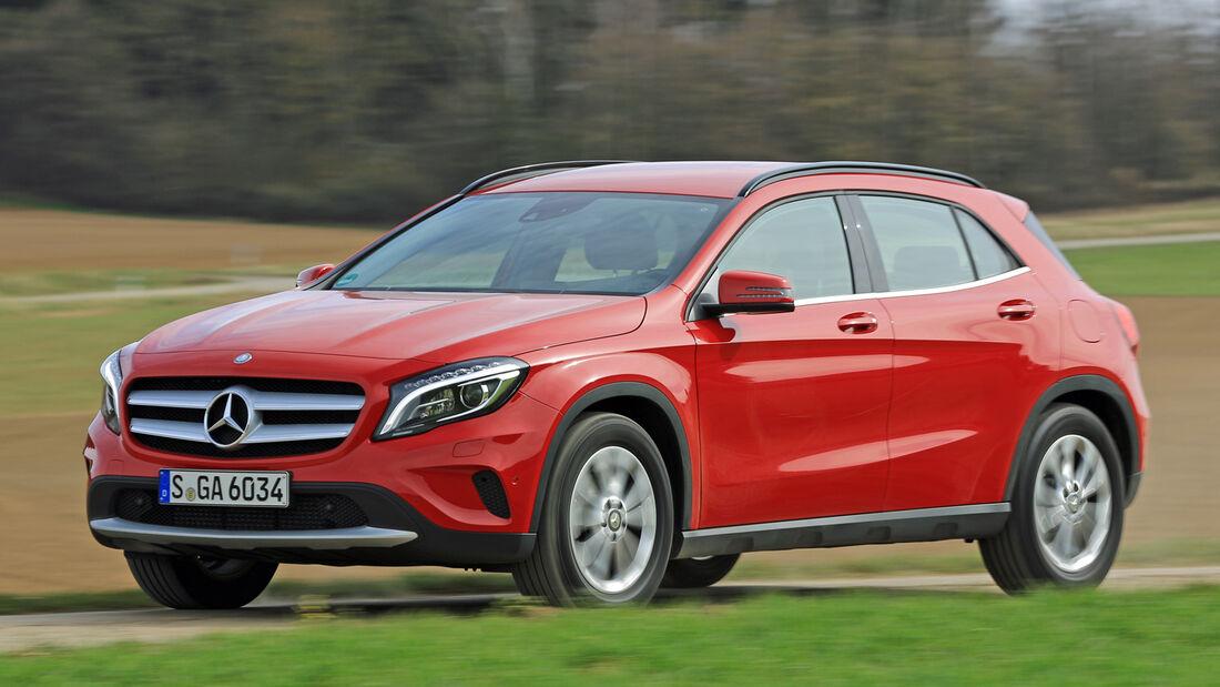 Mercedes GLA 200, Seitenansicht