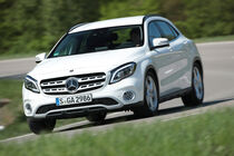 Mercedes GLA 220 4Matic, Frontansicht