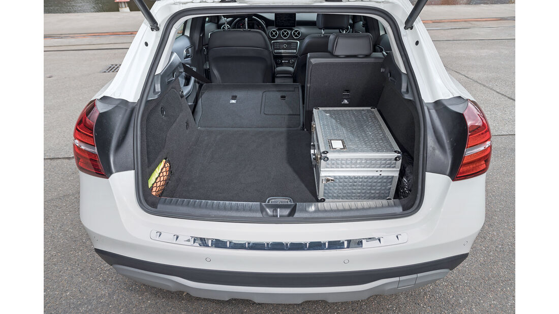 Mercedes GLA 220 4Matic, Kofferraum