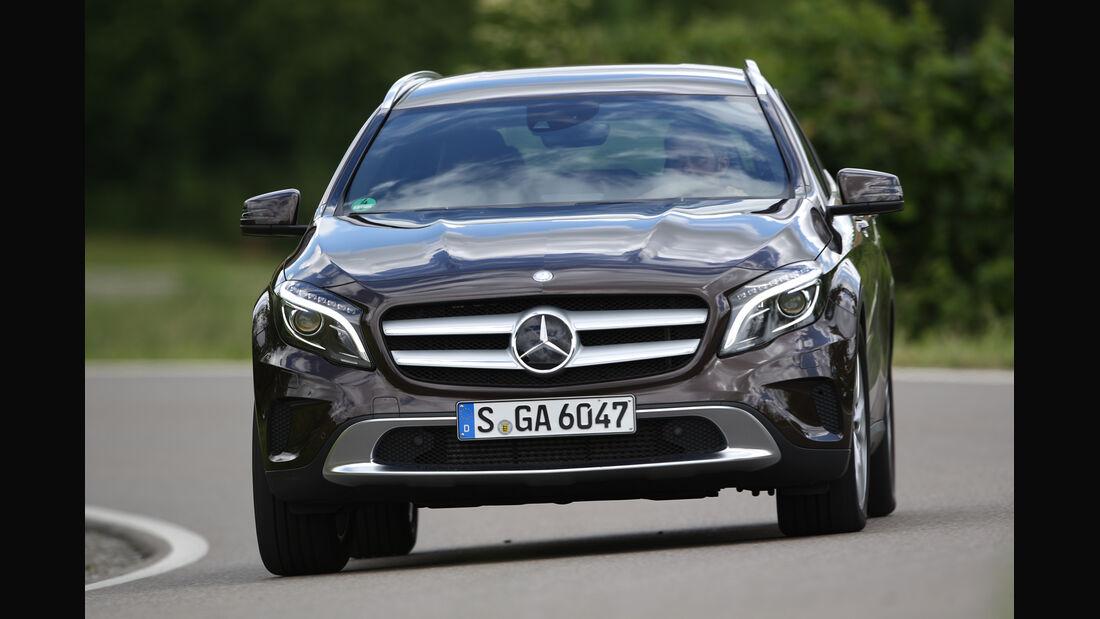 Mercedes GLA 220 CDI 4Matic, Frontansicht