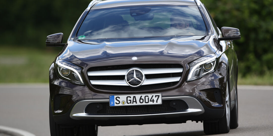 Mercedes GLA 220 CDI 4Matic, Frontansicht