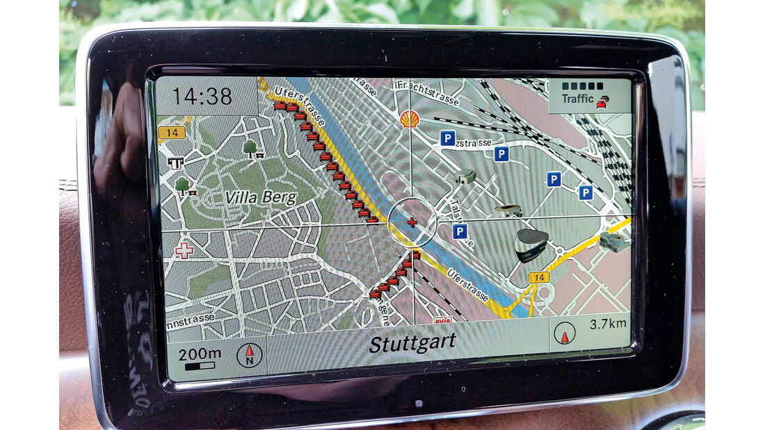 Mercedes GLA 220 CDI 4Matic, Infotainment