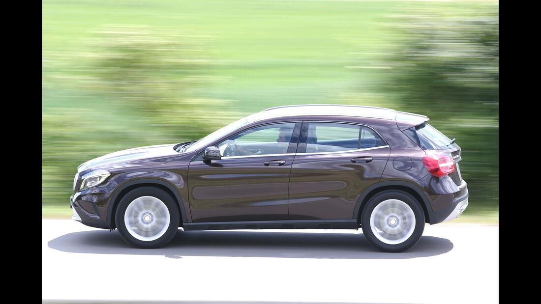 Mercedes GLA 220 CDI 4Matic, Seitenansicht
