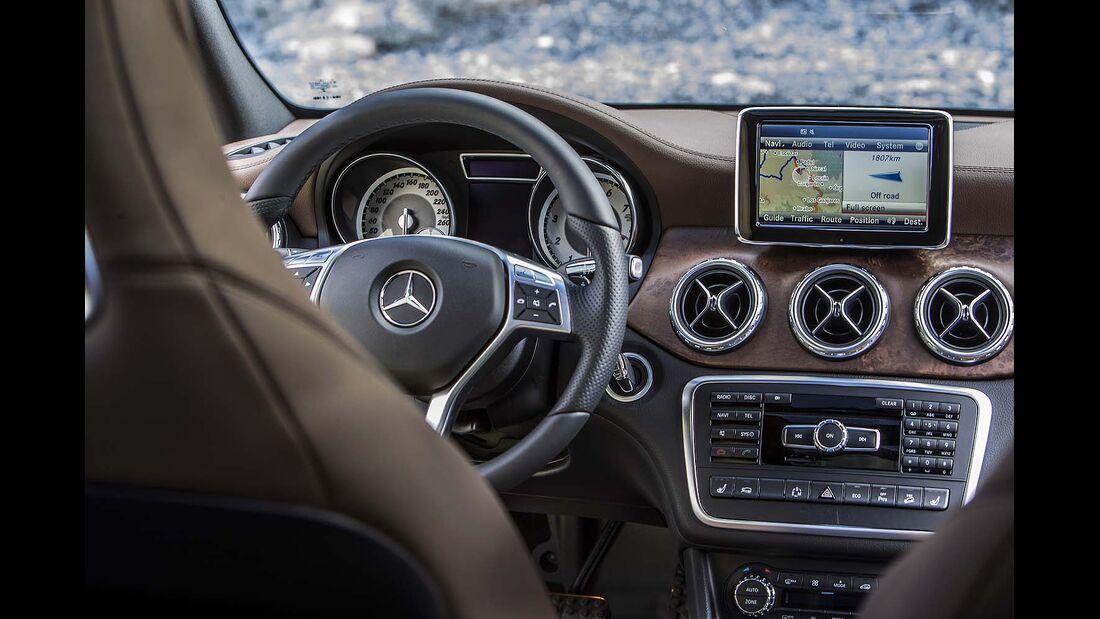 Mercedes GLA 220 CDI 4Matic mit Offroad-Paket im Fahrbericht