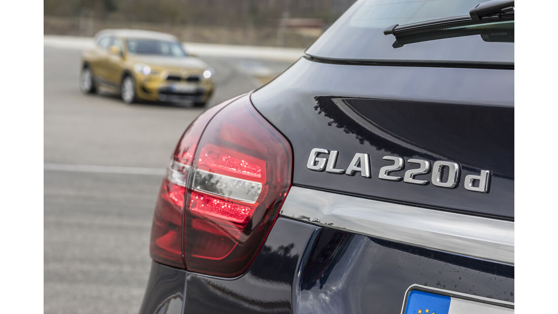 Mercedes GLA 220 d 4Matic, Exterieur