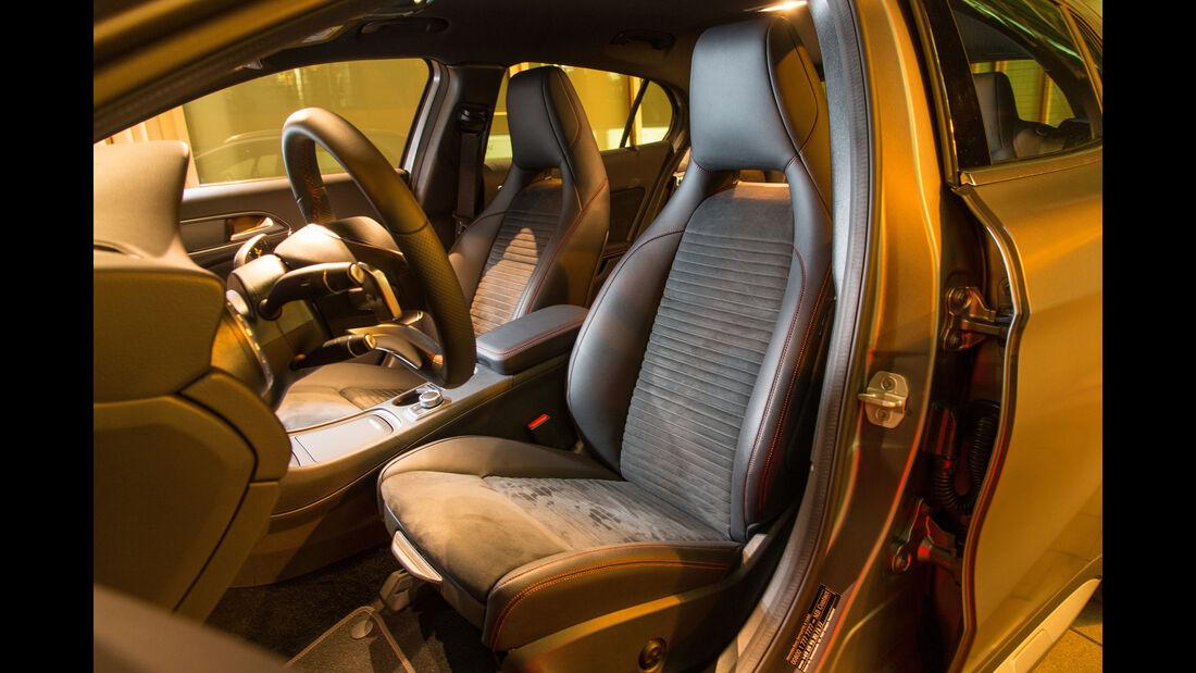 Mercedes GLA 220 d 4Matic, Fahrersitz
