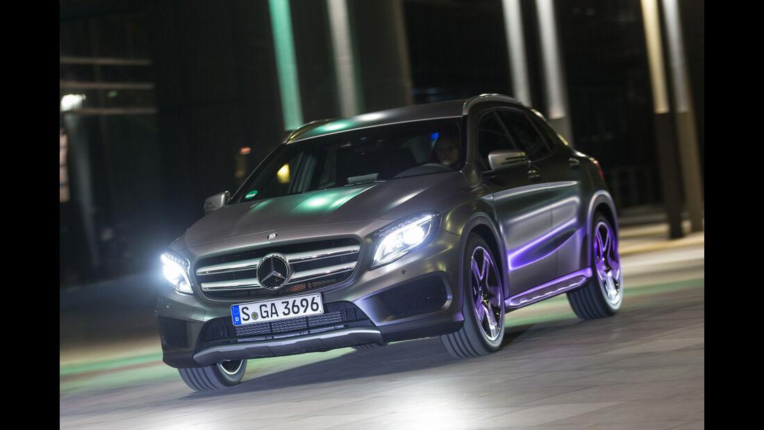 Mercedes GLA 220 d 4Matic, Frontansicht