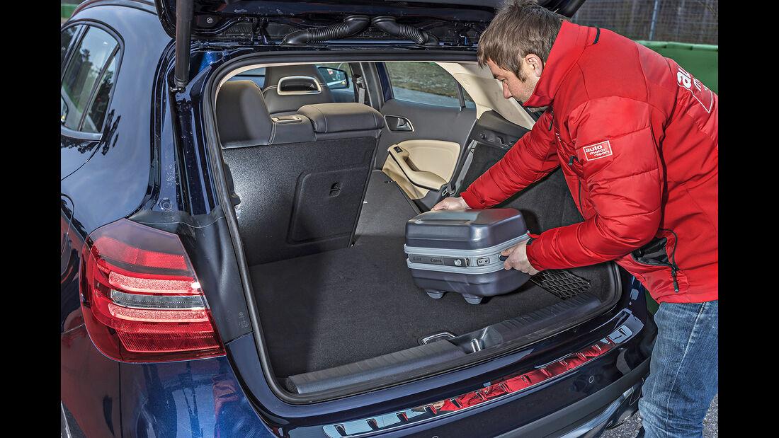 Mercedes GLA 220 d 4Matic, Kofferraum