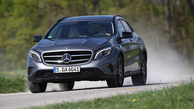 Mercedes GLA 250 4Matic, Frontansicht