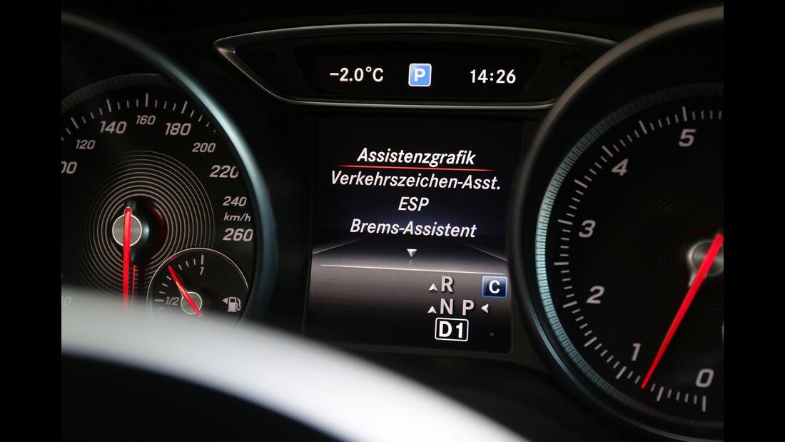 Mercedes GLA 250 4Matic, Interieur