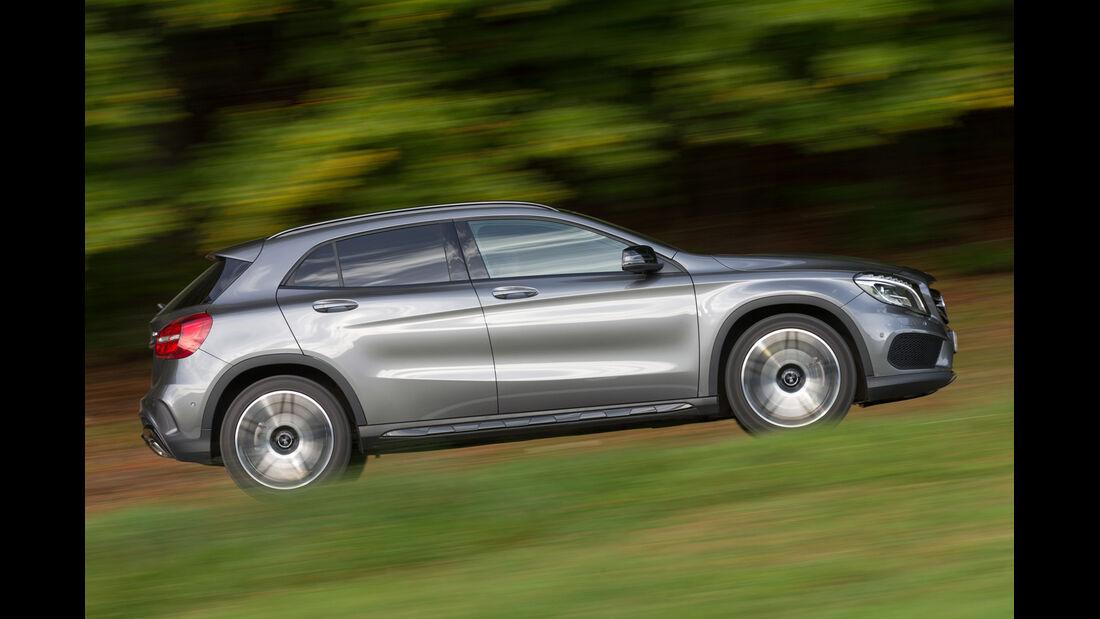 Mercedes GLA 250 4Matic, Seitenansicht