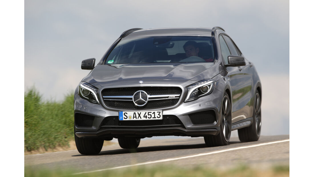 Mercedes GLA 45 AMG, Frontansicht