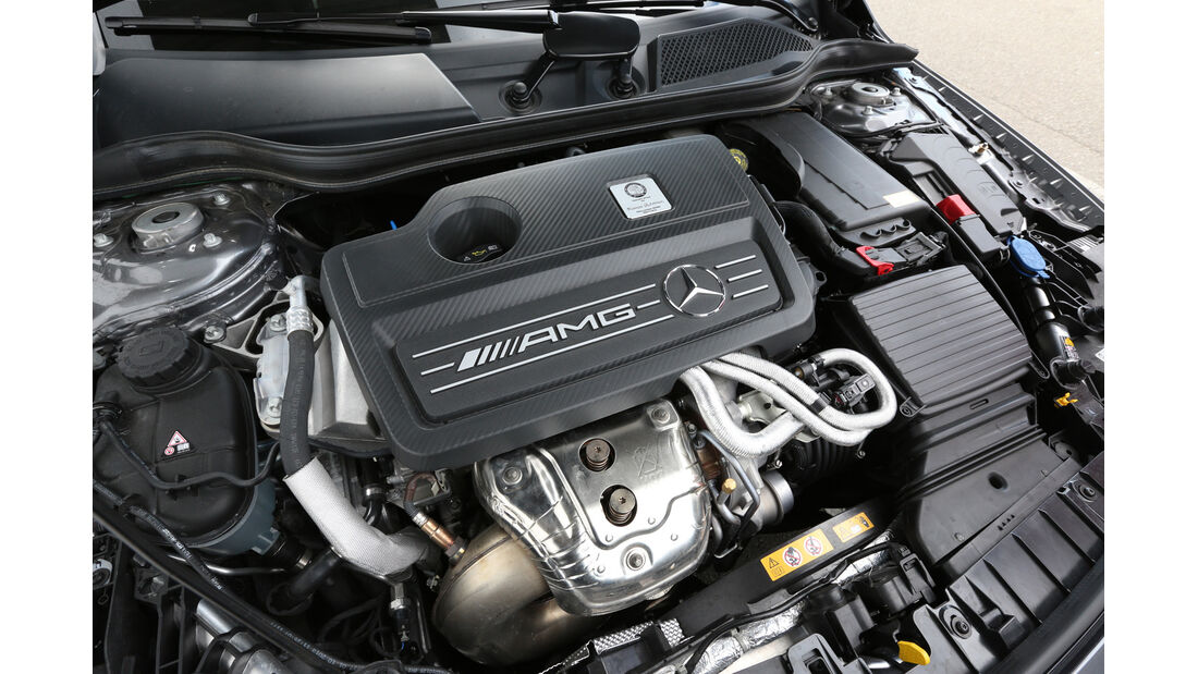 Mercedes GLA 45 AMG, Motor