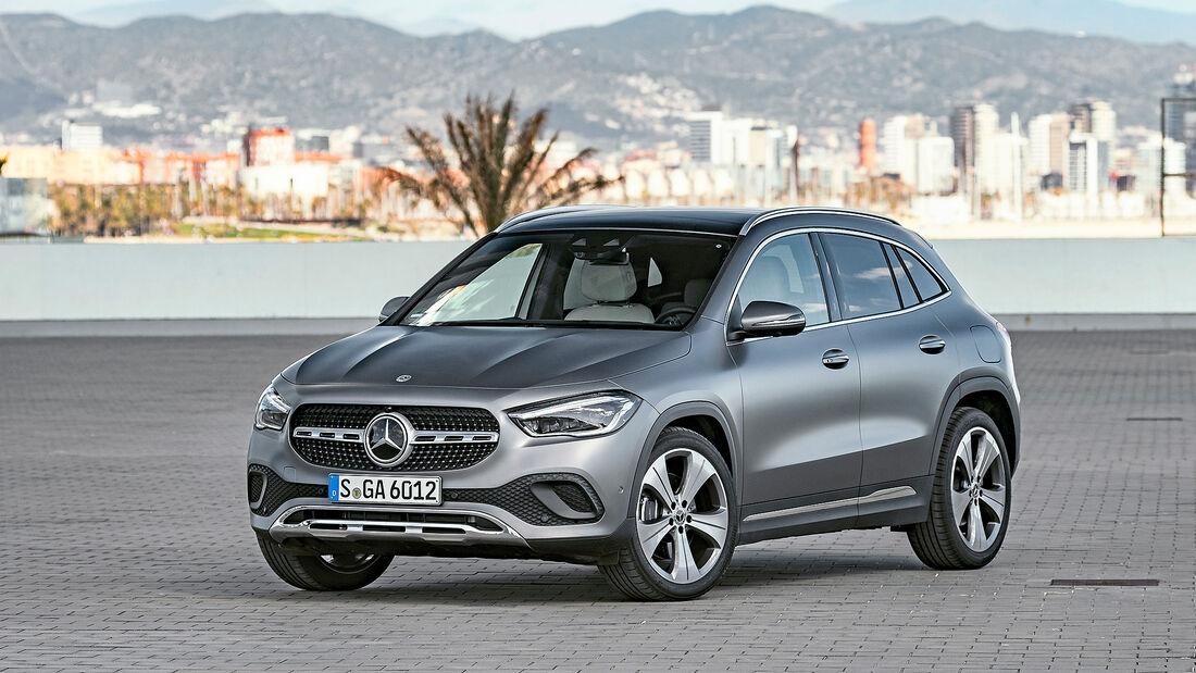 Mercedes GLA, Autonis 2020