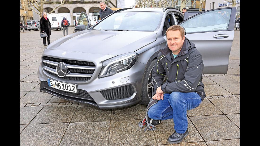 Mercedes GLA, Greg Taylor