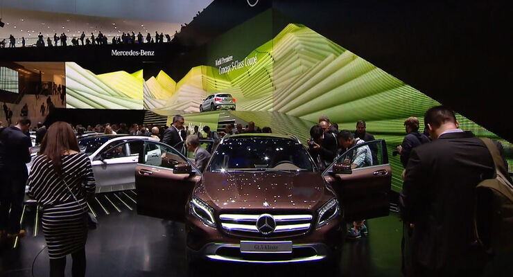Mercedes GLA, IAA, Kompakt-SUV