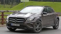 Mercedes GLA Muletto Erlkönig Mercedes GLB