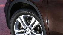 Mercedes GLA, Rad, Felge
