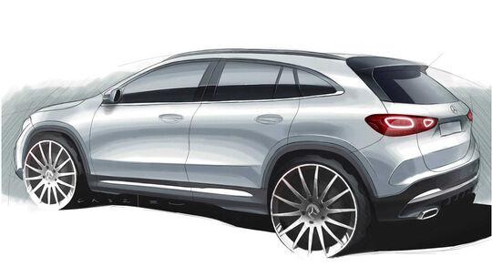 Mercedes GLA Teaser