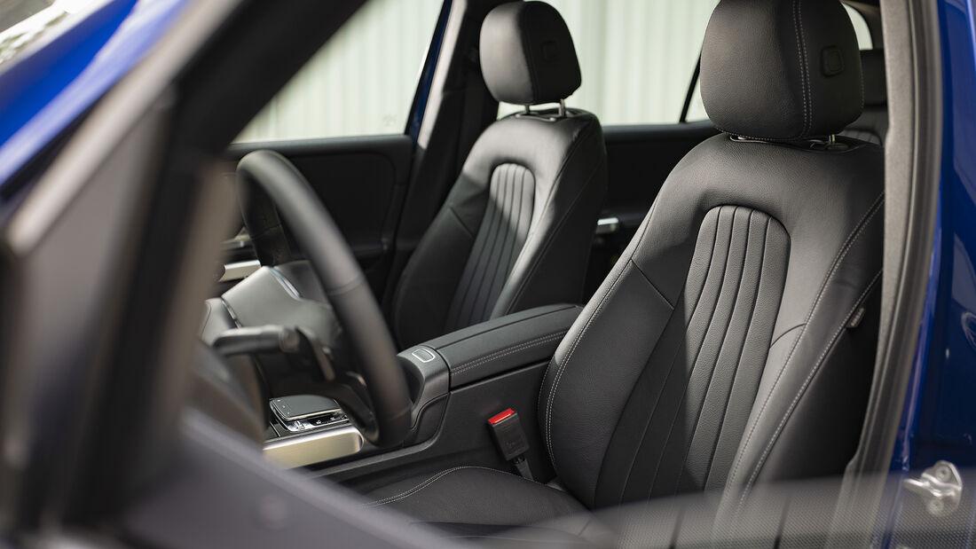 Mercedes GLB 180d, Interieur
