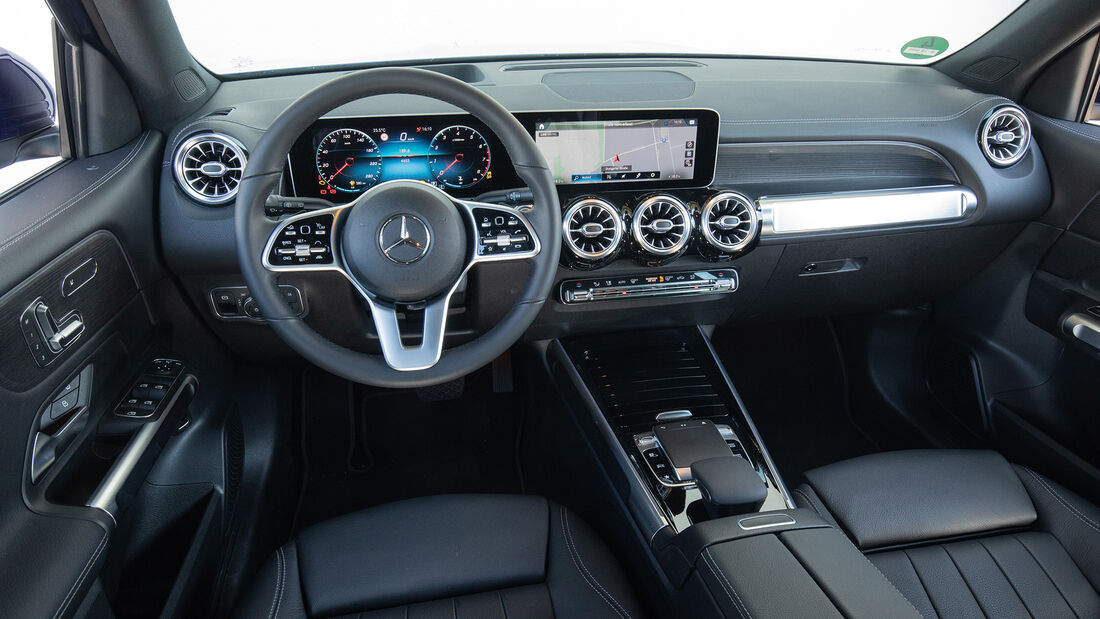 Mercedes GLB 200, Interieur