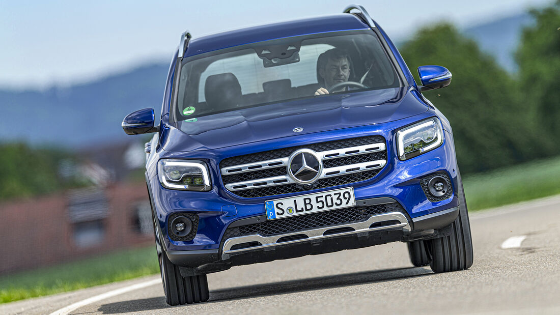 Mercedes GLB 250 4matic Progressive, Exterieur