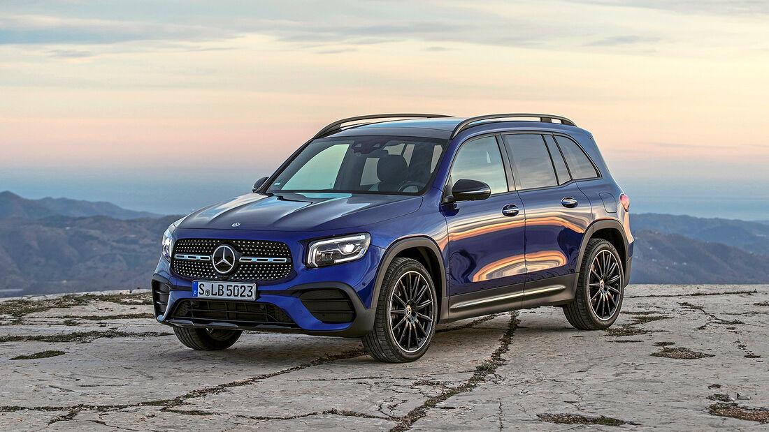 Mercedes GLB, Autonis 2020