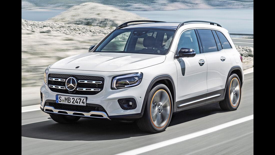 Mercedes GLB, Best Cars 2020, Kategorie K Große SUV/Geländewagen