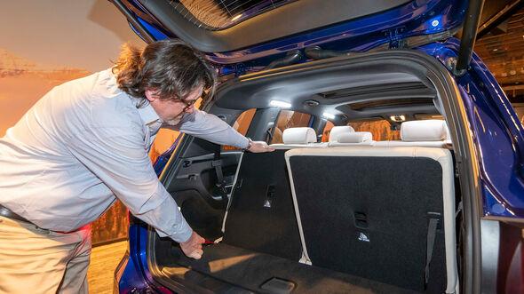 Mercedes GLB, Kofferraum
