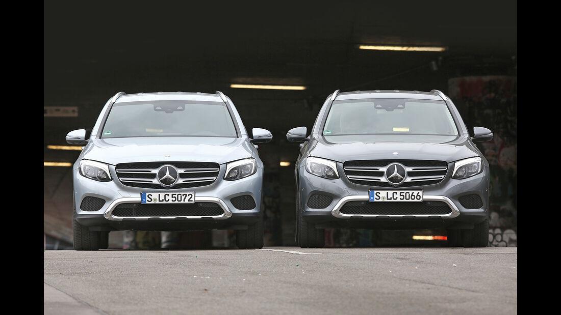 Mercedes GLC 250 4Matic, Mercedes GLC 250d 4Matic
