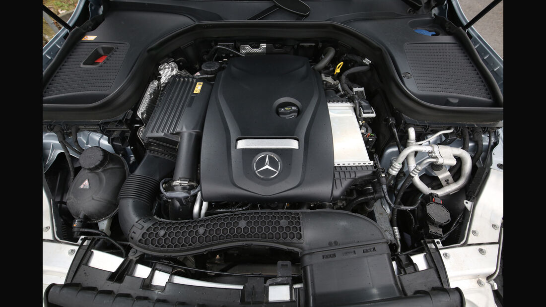 Mercedes GLC 250 4Matic, Motor