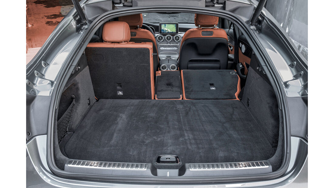 Mercedes GLC 250 d 4Matic Coupé, Kofferraum
