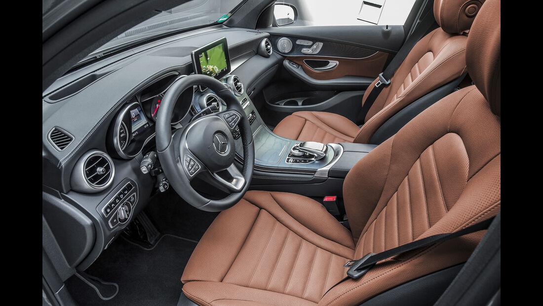 Mercedes GLC 250 d 4Matic Coupé, Sitze