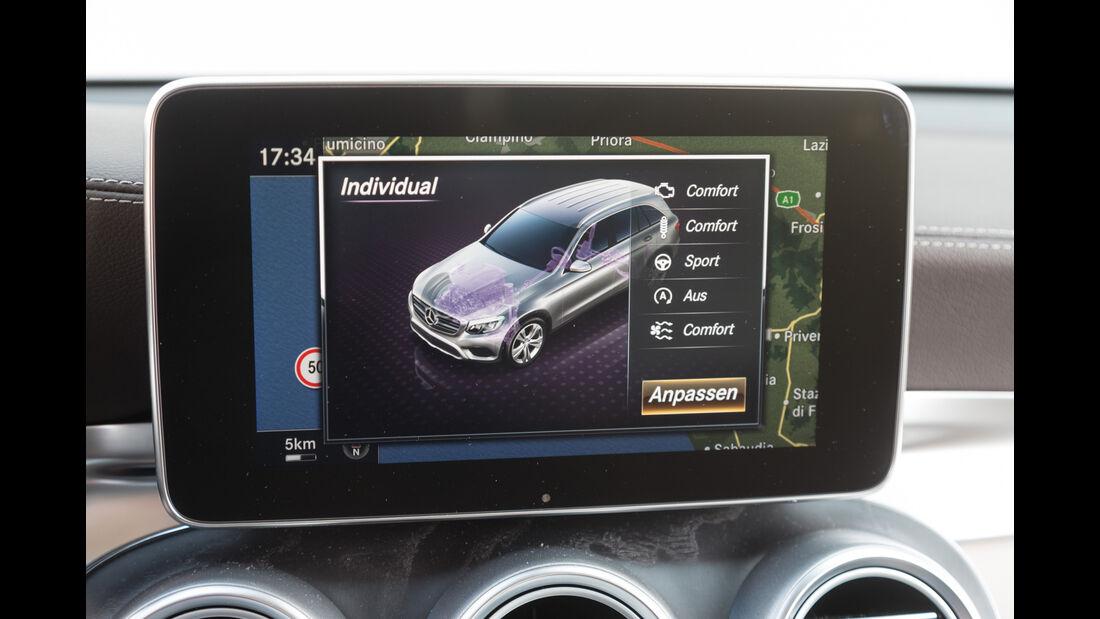Mercedes GLC 250 d 4Matic, Display, Infotainment