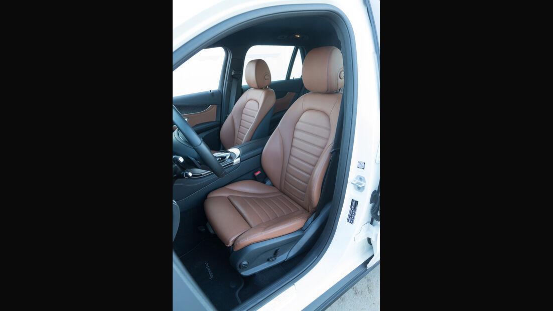 Mercedes GLC 250 d 4Matic, Fahrersitz