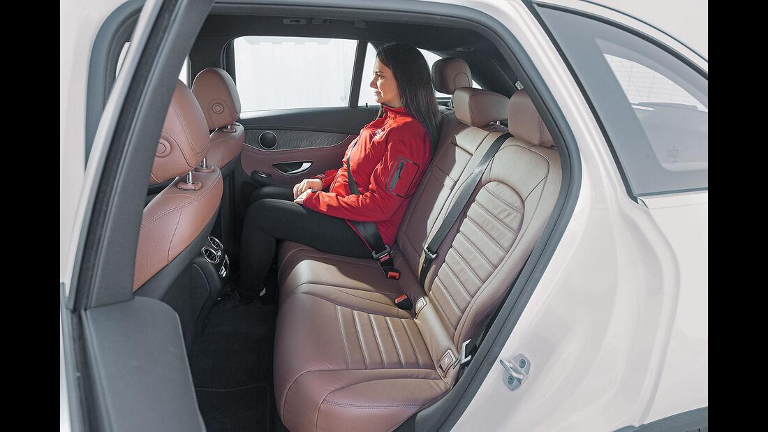 Mercedes GLC 250 d 4Matic, Fondsitz