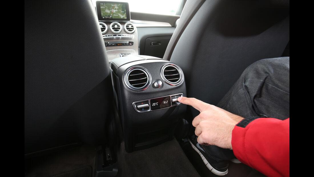 Mercedes GLC 250 d 4Matic, Luftausströmer, Fond