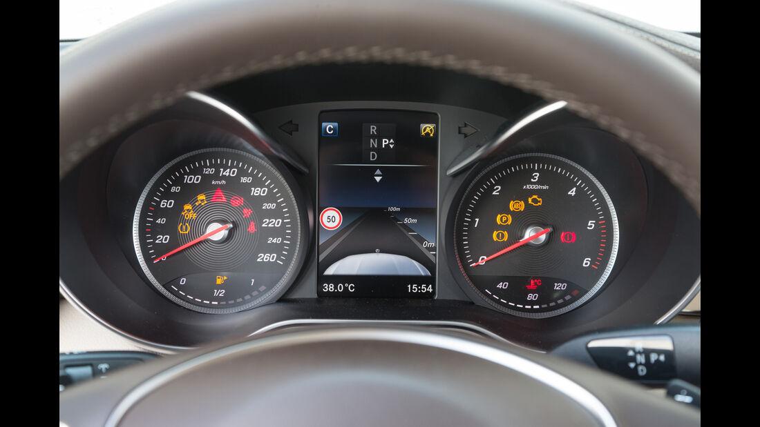 Mercedes GLC 250 d 4Matic, Rundinstrumente