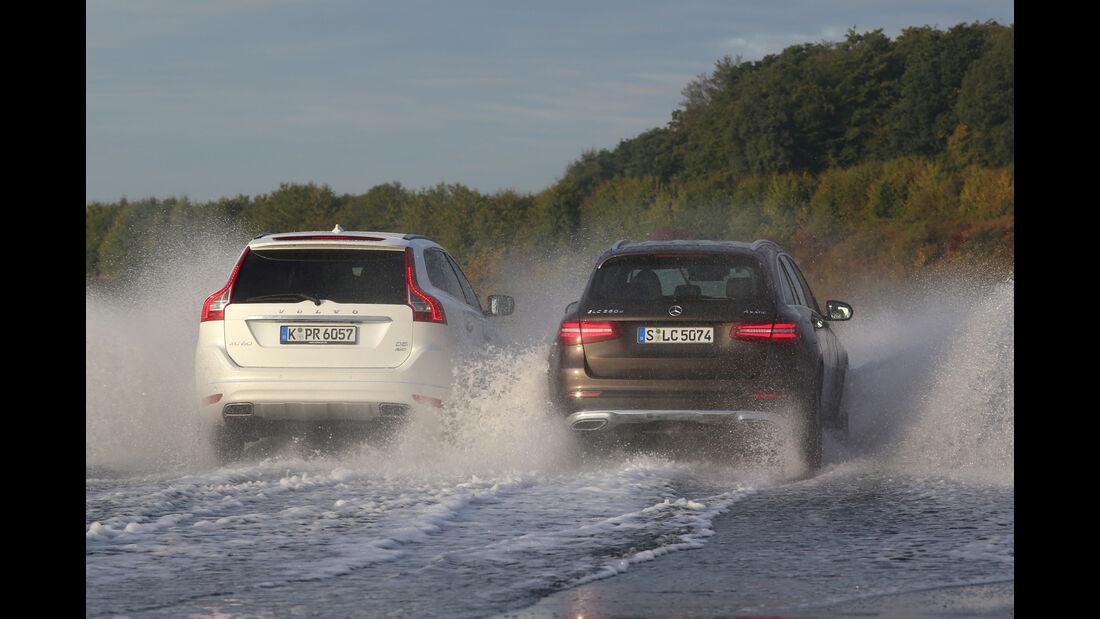 Mercedes GLC 250 d 4Matic, Volvo XC60 D5 AWD,