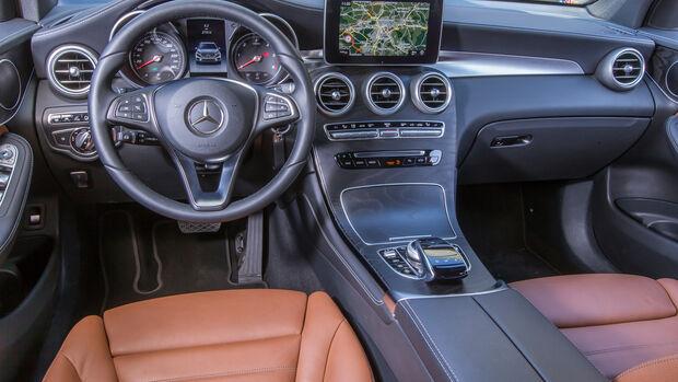 Mercedes GLC 250 d, Cockpit