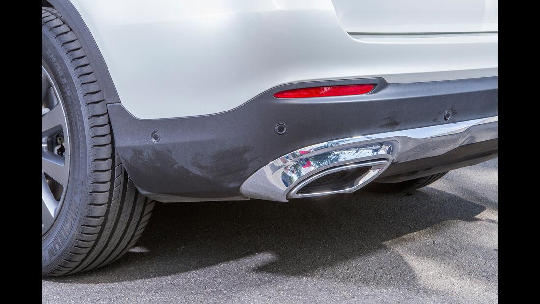 Mercedes GLC 250 d, Endrohr