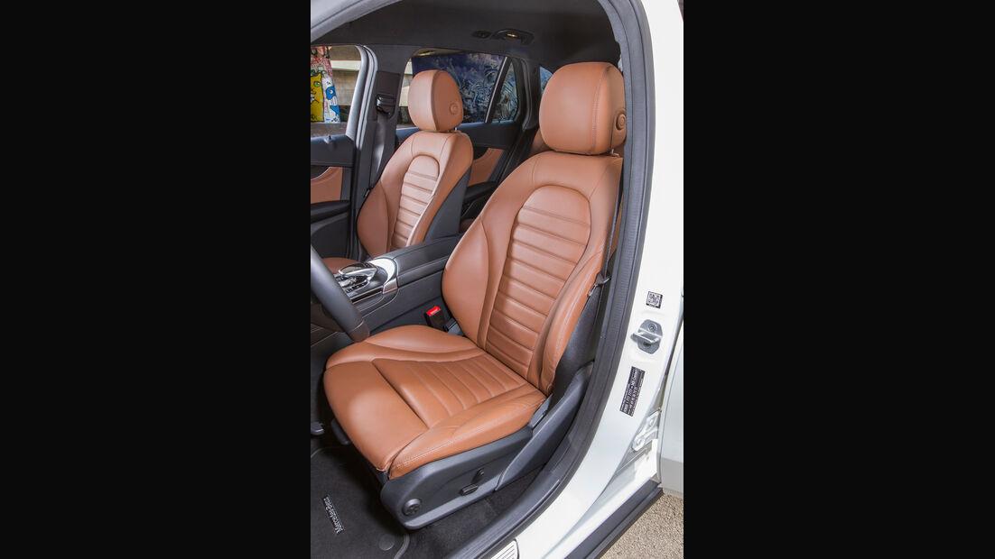 Mercedes GLC 250 d, Fahrersitz